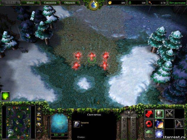 скриншот к игре warcraft 3: frozen throne v.1.24e