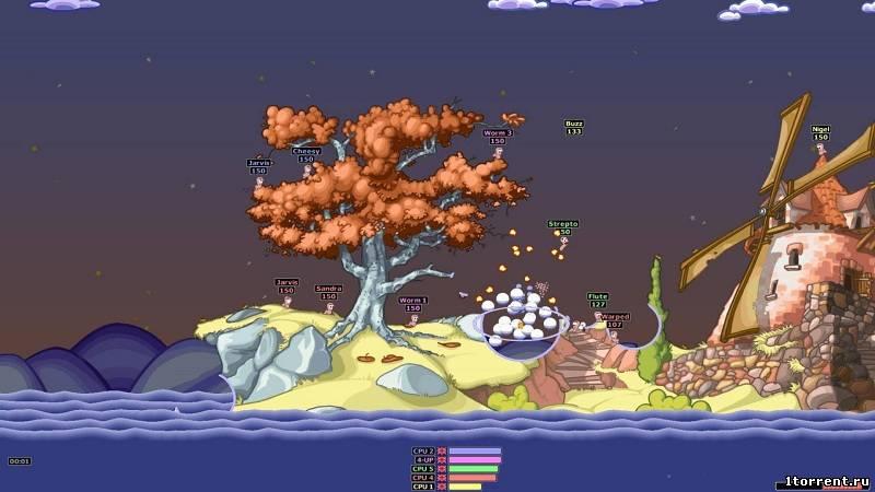 скриншот к игре worms: armageddon [3.7.2.1]