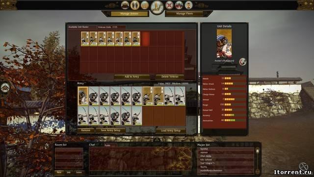 скриншот к игре shogun 2: total war 1.1.0