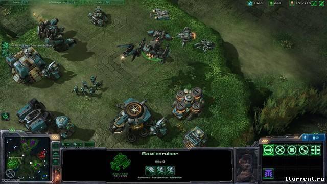 скриншот к игре starcraft 2: wings of liberty v.1.2.2