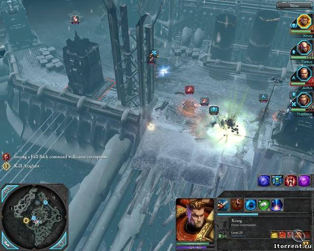 скриншот к игре warhammer 40.000: dawn of war 2 – chaos rising