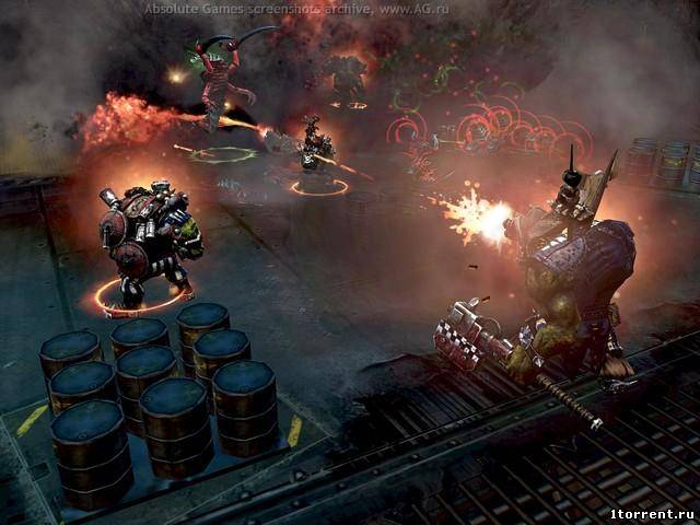 скриншот к игре warhammer 40.000: dawn of war 2 retribution v.3.11.1.5937