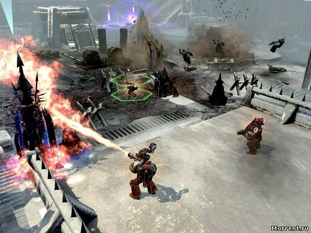 скриншот к игре warhammer 40,000: dawn of war 2 - retribution