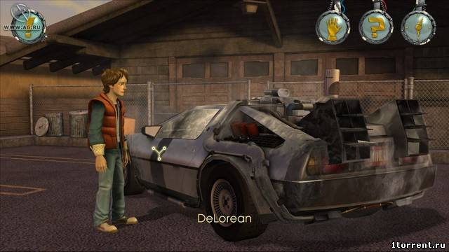 скриншот к игре back to the future: the game episode 1
