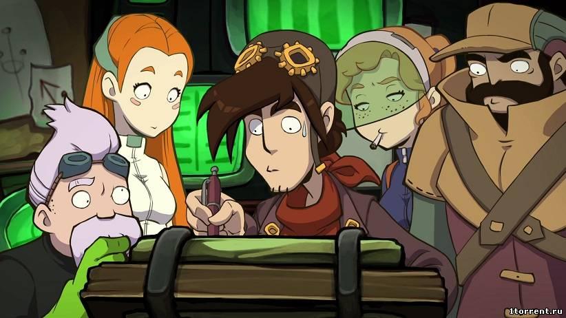 скриншот к игре goodbye deponia