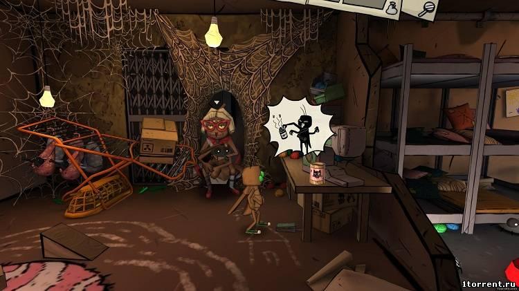 скриншот к игре journey of a roach v.1.10.040