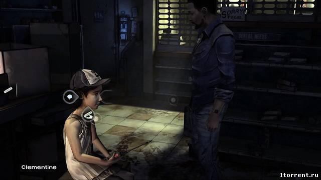 скриншот к игре the walking dead