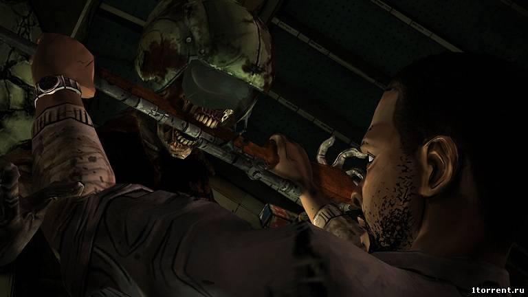скриншот к игре the walking dead: episode 4 — around every corner